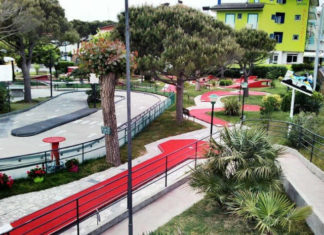 Minigolf a tenis Adriagolf