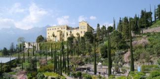 Botanická zahrada u zámku Trauttmansdorff