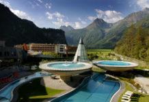 Celkový pohled na Aquadome Ötztal