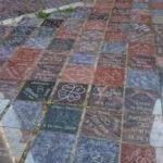 Destičky se jmény jsou důkazem, že Kap Arkona je populárním místem pro pořádání svateb