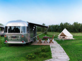 Airstream karavan v Cavallinu