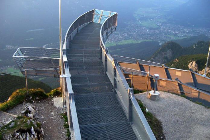 Vyhlídka Alpspix v Bavorsku