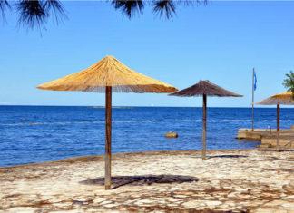 Pláž v rezortu Plava laguna, Poreč