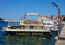 Poreč - loď Viking s proskleným dnem
