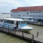 Trajekt Mörbisch – Illmitz s koly na palubě