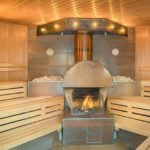 Sauna v aquaparku AHOI! RÜGEN v Sellinu na Rujáně