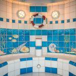 Parní sauna v aquaparku AHOI! RÜGEN v Sellinu na Rujáně