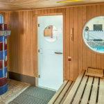 Sauna se světelnou terapií v aquaparku AHOI! RÜGEN v Sellinu na Rujáně