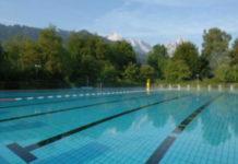 Alpspitz Wellenbad Garmisch-Partenkirchen - venkovní plavecký bazén