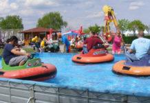 Freizeitpark Podersdorf - jízda na člunech