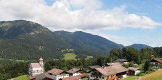 Vesnice Wamberg v Německu