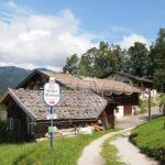 Historická lidová architektura ve vesnici Wamberg