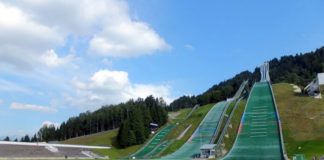 Skokanské můstky v Garmisch-Partenkirchenu