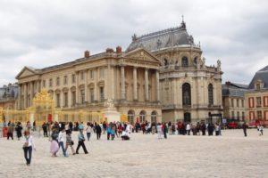 Zámek Versailles - pohled na kapli