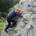 Freizeitpark Aufenfeld - lezecká stěna pro děti