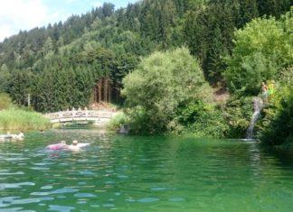 Freizeitpark Aufenfeld - vodopád