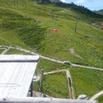 Spieljochbahn - jízda na kladce