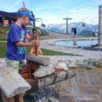 Spieljochbahn - hra ve vodním parku
