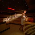 Erlebnistherme Zillertal - sauna se světelnými efekty