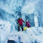 Natur Eis Palast Hintertuxer Gletscher -Ledový sen