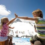 Hintertuc Gletscher - vyhlídková terasa