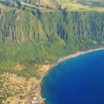 Útesy Kalaupapa na Hawaji