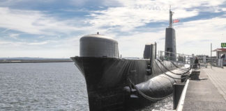 U-Boot-Museum Sassnitz - ponorka H.M.S Otus