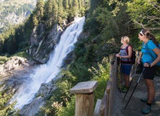 Krimmelské vodopády - vyhlídková platforma