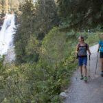 Krimmelské vodopády - turistická stezka