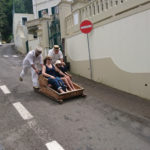 Monte - jízda na sáňkách