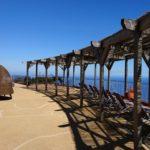 Village Cabo Girao - terasa s lehátky