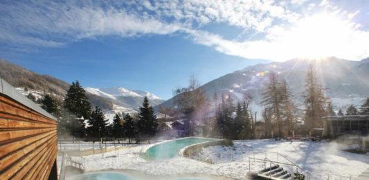 Venkovní bazén Quattro Stagioni v Bormio Terme