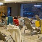 Aquagranda Livigno - relaxační zóna