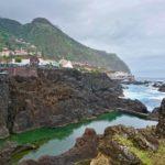 Porto Moniz - přírodní lávová jezírka u Restaurante Cachalote