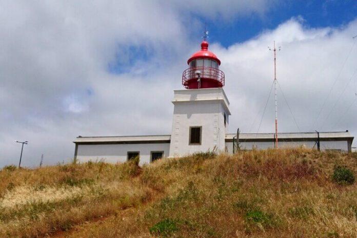Maják v Ponta do Pargo