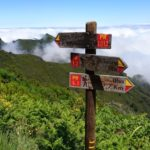 Cesta na Pico Ruivo - rozcestí PR1.1 a PR1.2