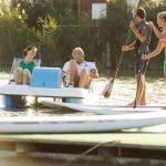 Pláž Neusiedl am See - vodní sporty