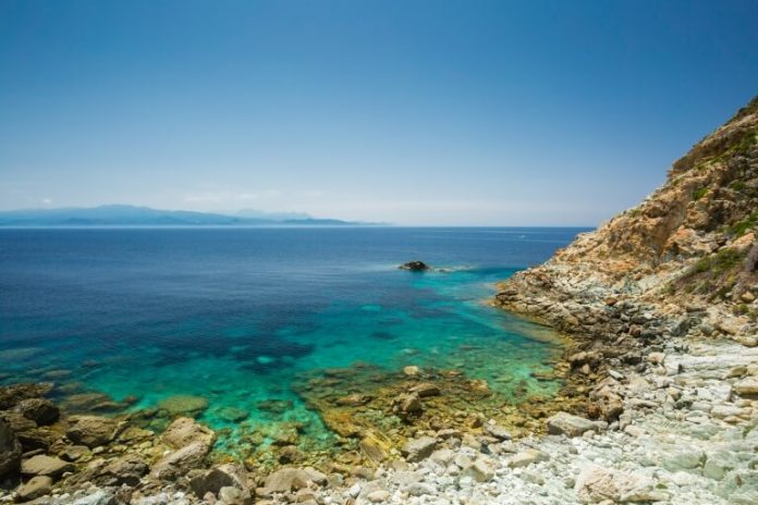 Pláž Canella na Korsice